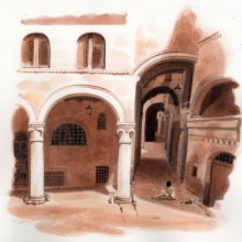 "View ""Drawing in the Piazza"""